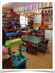 Photo of playroom